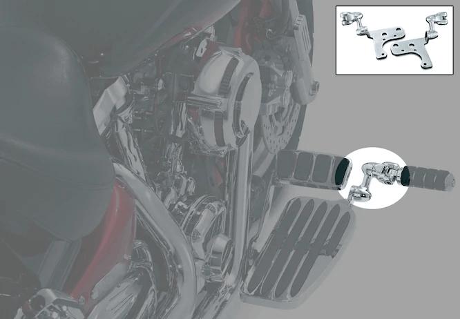 Extension ajustable pour repose pied Kawasaki