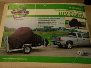 Toile de Transport Guardian Dowco UTV